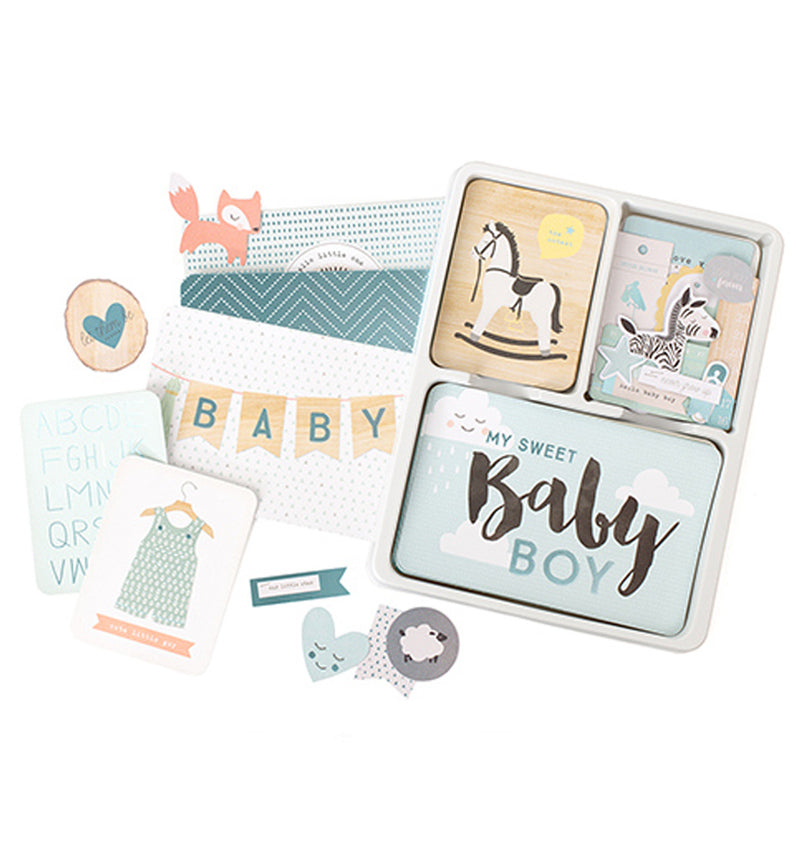 Project Life Little You Boys Collection Value Kit with Foil Accents Designs