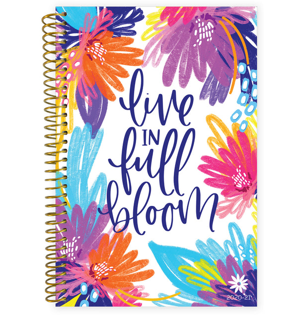 Live In Full Bloom 2020-2021 Soft Cover Daily Planner