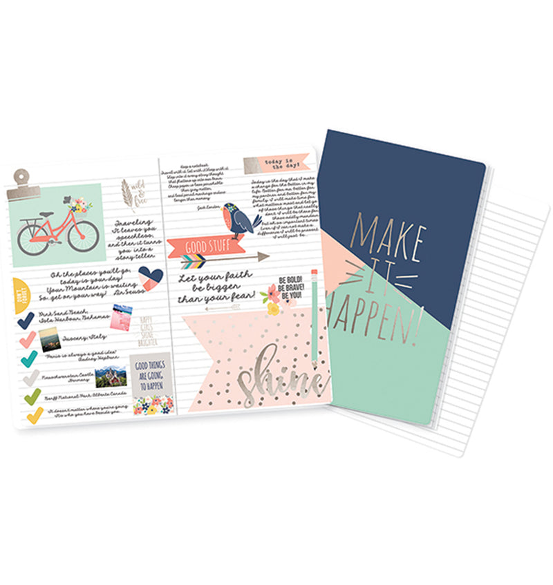 Make It Happen Traveller Notebook Inserts