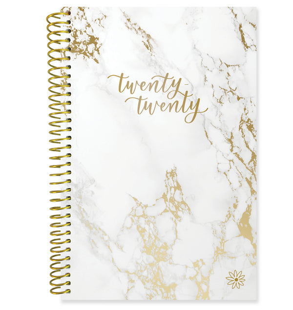 Bloom Marble 2020 Soft Cover Daily Planner