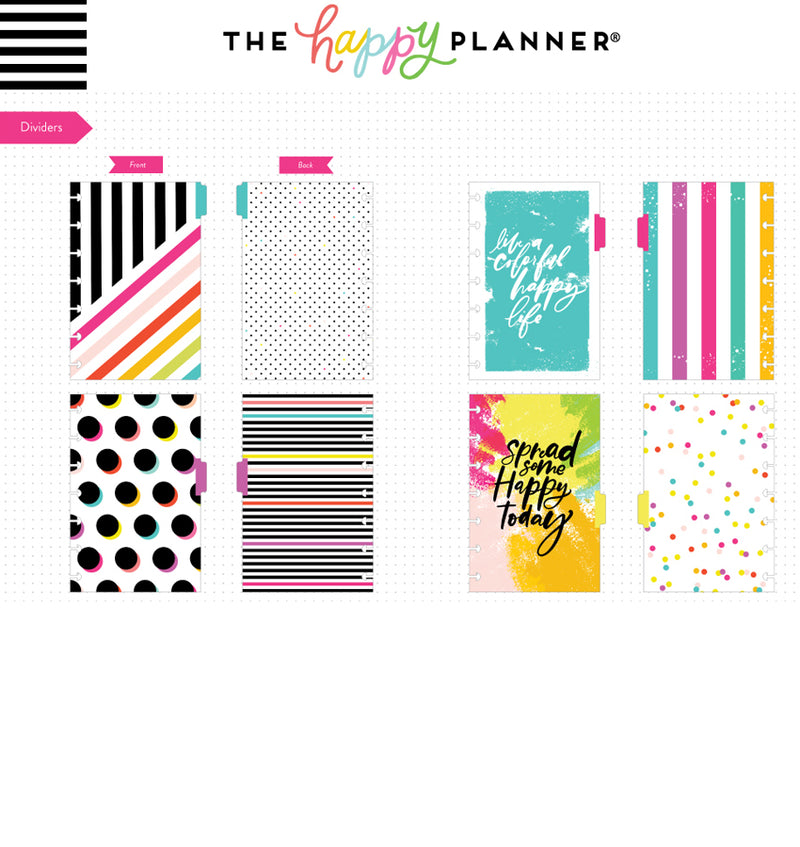 Color Me Happy Mini Happy Notes™ Journal (Dot Grid) Dividers
