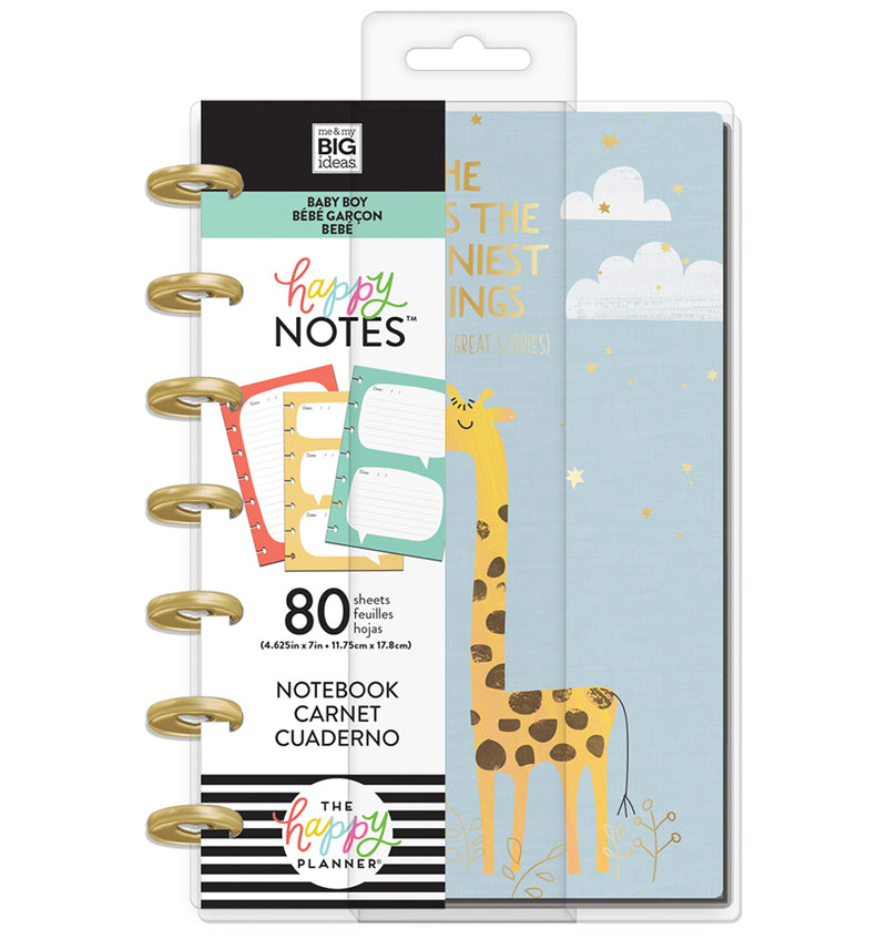 He Said Mini Happy Notes™ (Lined & Quote) Cover with Tab