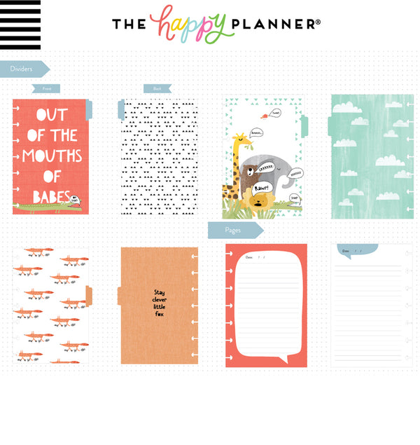He Said Mini Happy Notes™ (Lined & Quote) Dividers and Pages