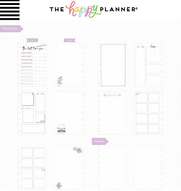 Hooray For Today Mini Happy Notes™ Journal (Dot Grid) Pages Layout
