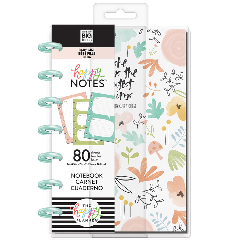 She Said Mini Happy Notes™ (Lined & Quote) Cover with Tab