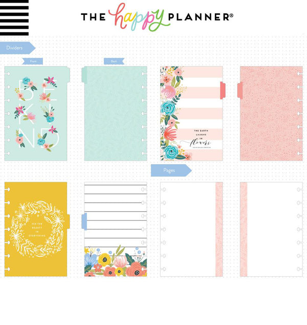 Think Big Start Small Mini Happy Notes™ (Blank) Dividers