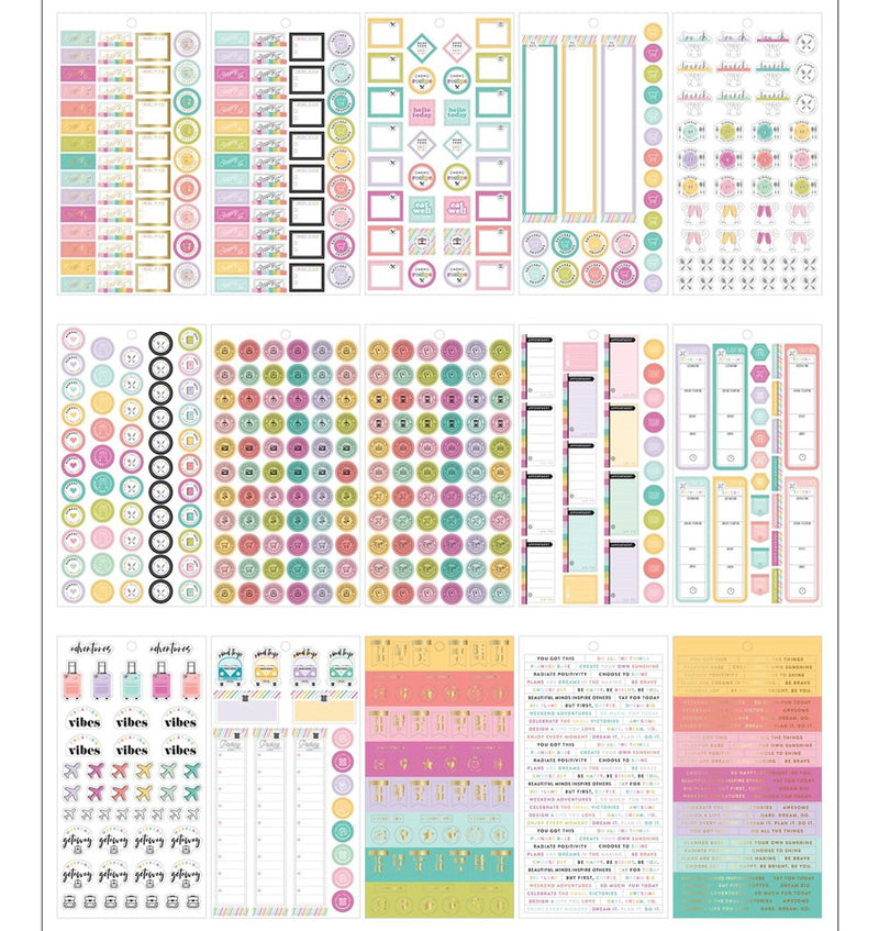 Mini Planner Babe Sticker Pack (1311pcs)