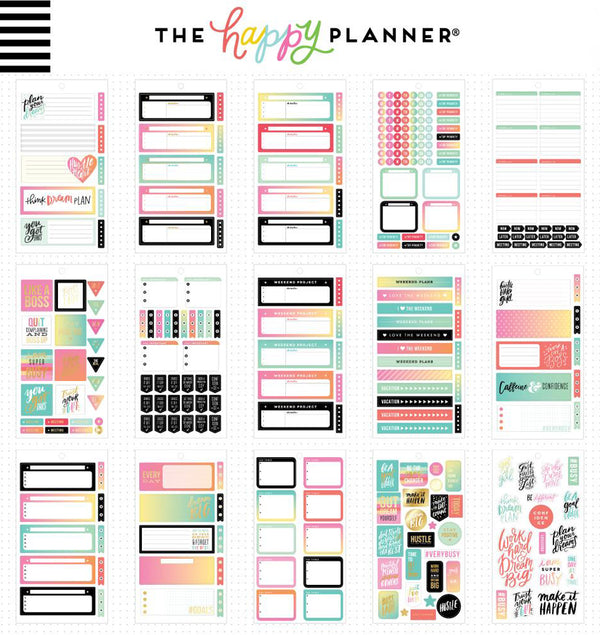 Mini Productivity Planner Sticker Pack (875pcs)