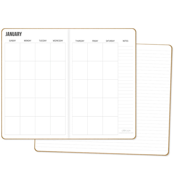 Monthly & Lined Traveller's Notebook Inserts