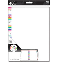 Blank Note Paper (Classic Happy Planner) 40pcs