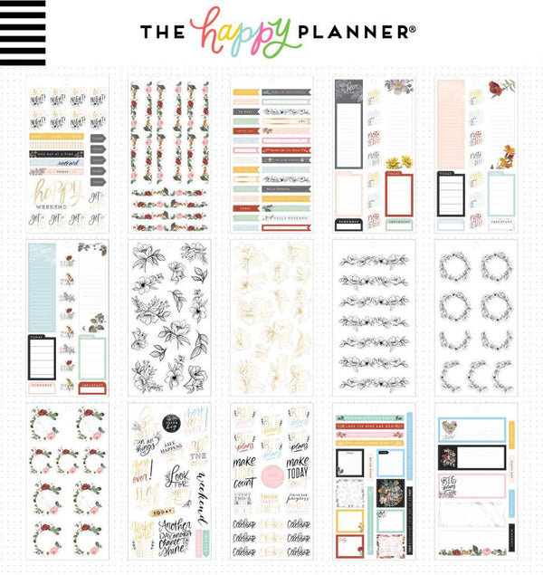 Botanicals Planner Sticker Pack (457pcs) Design One