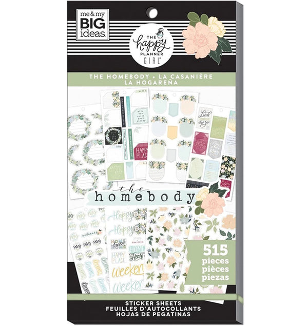 Homebody Planner Sticker Pack (515pcs)