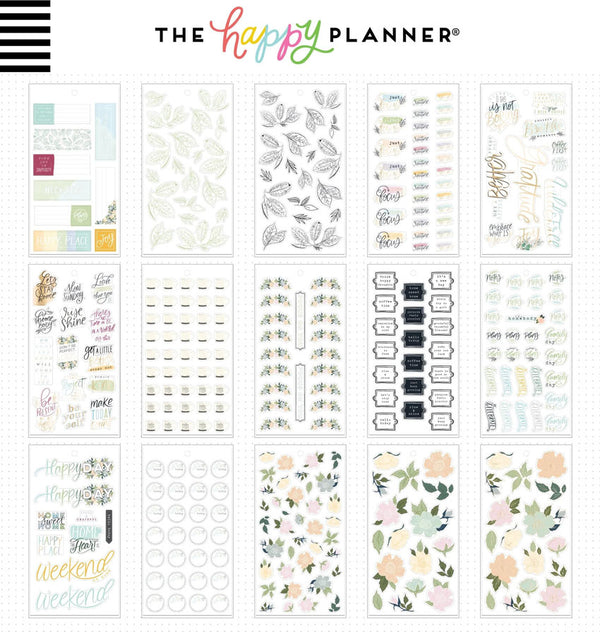 Homebody Planner Sticker Pack (515pcs) Design One