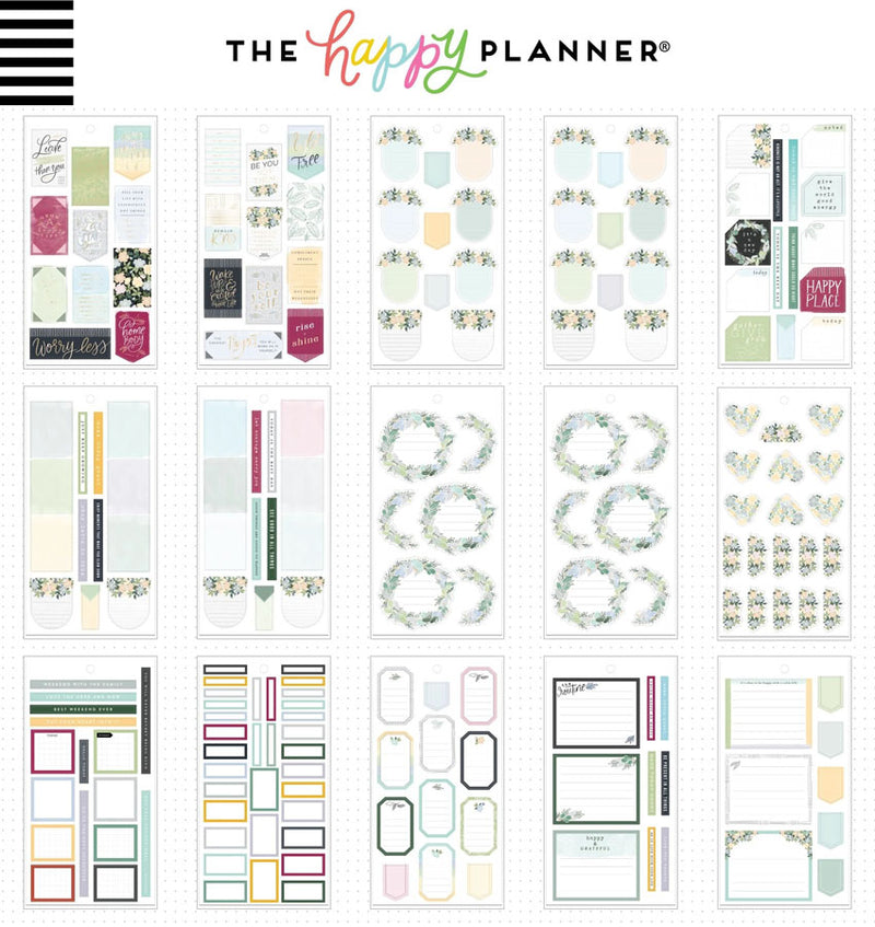 Homebody Planner Sticker Pack (515pcs) Design Two