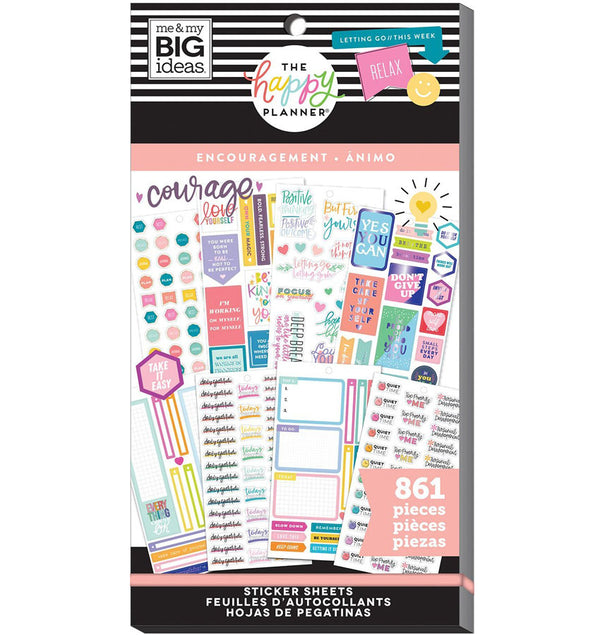 Encouragement Planner Sticker Pack (861pcs)