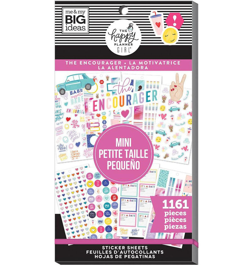 Mini Encourager Planner Sticker Pack (1161pcs)