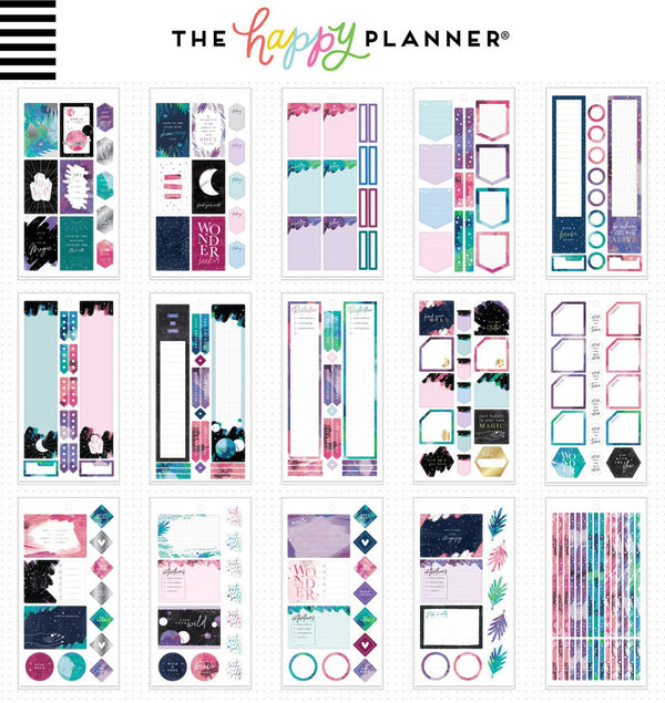 Stargazer Planner Sticker Pack (687pcs) Design One
