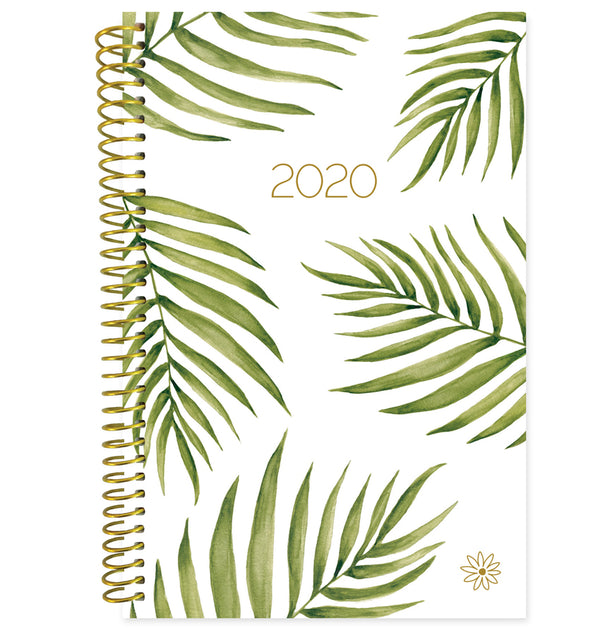 Bloom Palm Leaves 2020 Soft Cover Daily Planner