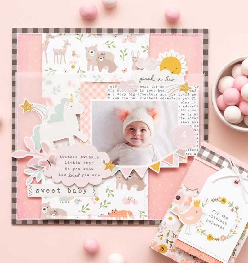 Peek-A-Boo You Girl 12 x 12 Paper Pad 36pcs