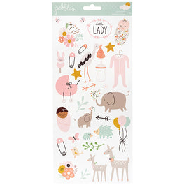 Peek-A-Boo You Girl 6x12 Sticker Sheet