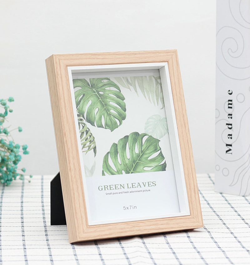 Wooden Style Photo Frame
