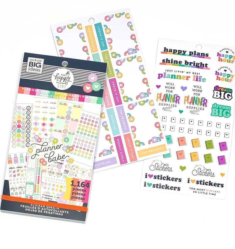 Planner Babe Sticker Pack (1164pcs)