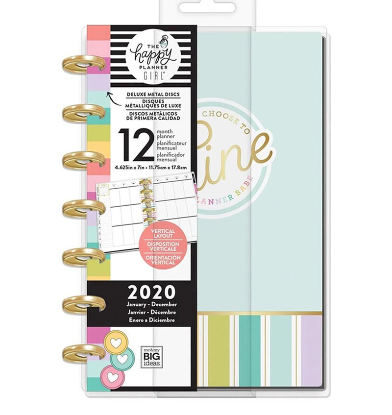 Planner Babe Shine Deluxe 2020 Mini Happy Planner