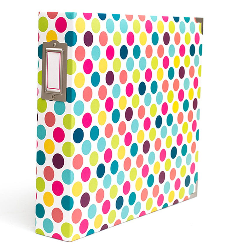 Project Life 12 x 12 Bold Dots D-Ring Album