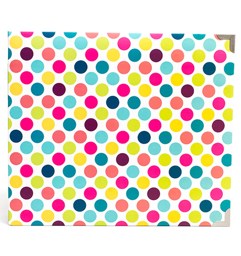 Project Life 12 x 12 Bold Dots D-Ring Album Front