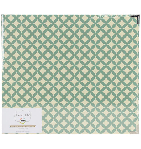 Project Life 12 x 12 Kraft Classic D-Ring Album Front