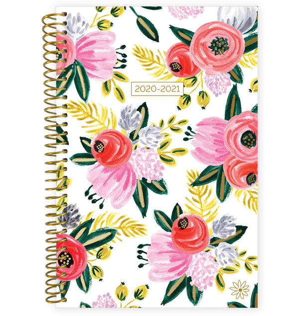Rustic Blooms 2020-2021 Soft Cover Daily Planner