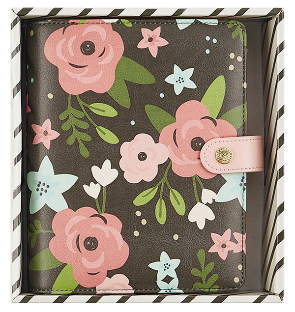 Simple Stories Black Blossom Personal Planner Boxed Set Undated