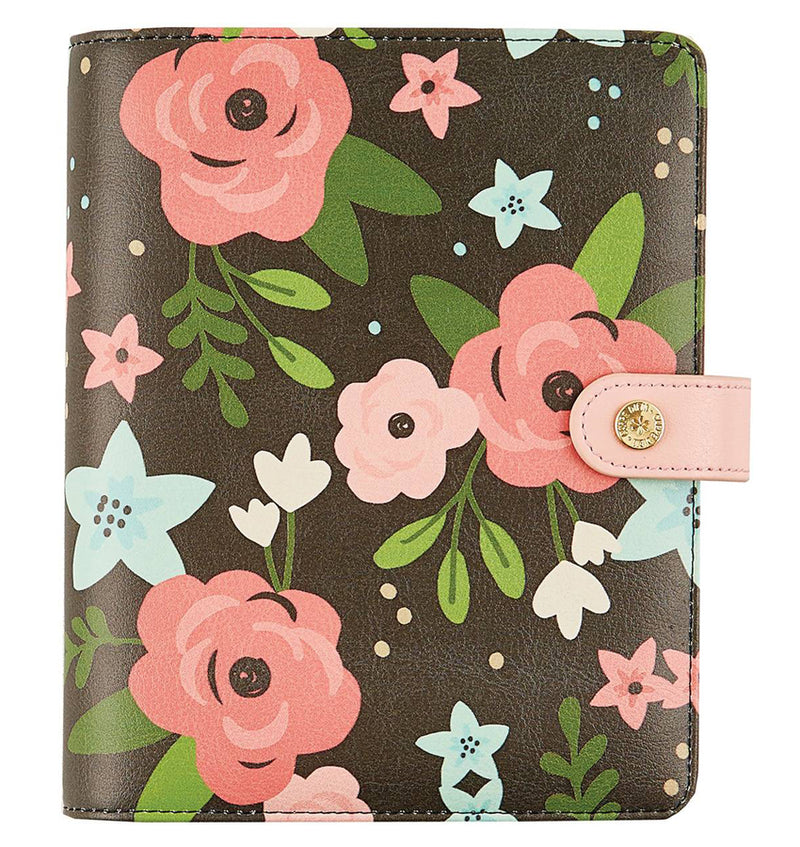 Simple Stories Black Blossom Personal Planner by Carpe Diem