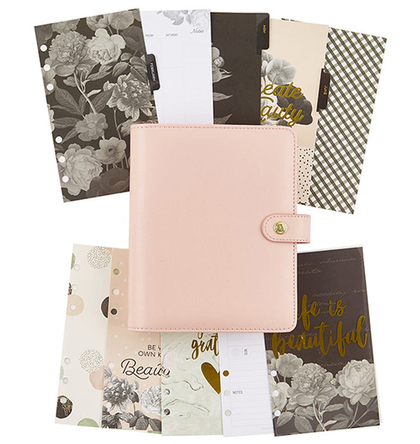 Simple Stories Blush Personal Planner Boxed Set Undated with Inserts
