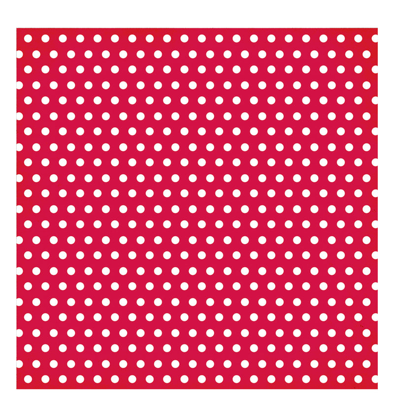 Simple Stories Red Dot 12 x 12 Double Sided Patterned Paper