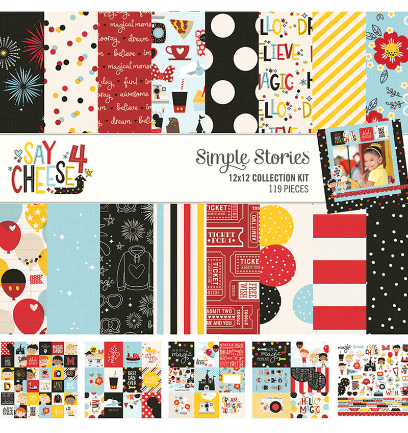 Simple Stories Say Cheese 4, 12x12 Collection Kit
