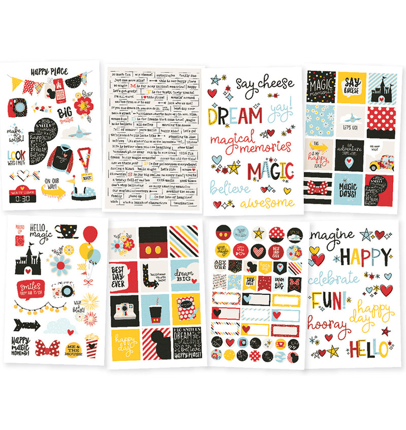 Say Cheese 4 Icons 4x6 Sticker Sheets (8pcs)