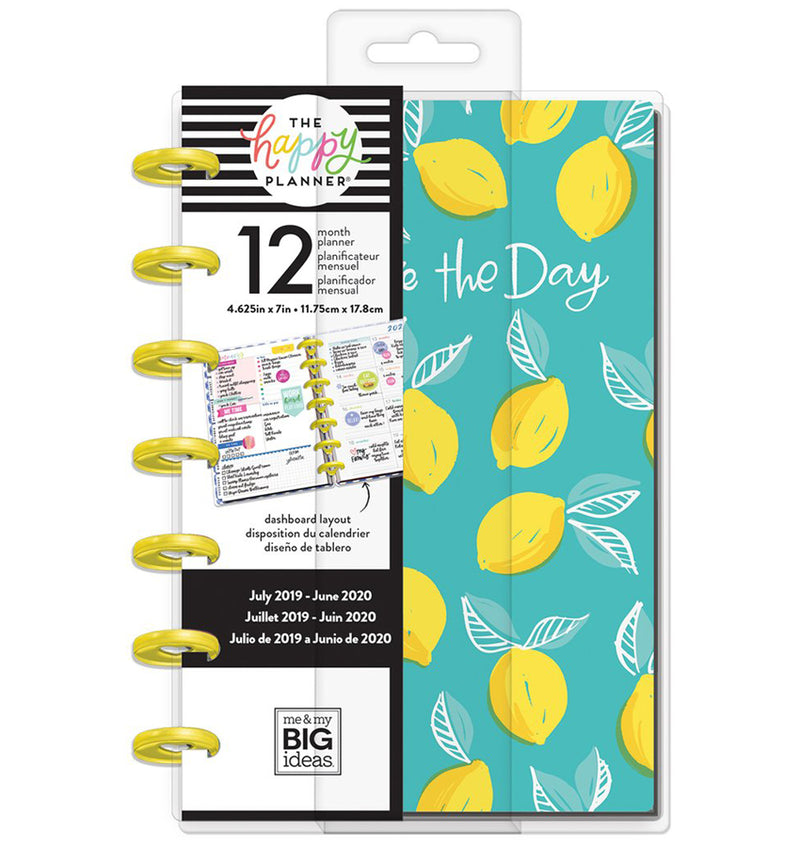 Southern Preppy 2019 - 2020 Mini Happy Planner (12 Months) Cover with Tab