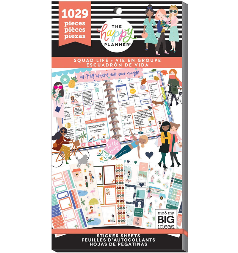 Squad Life Planner Sticker Pack (1029pcs)