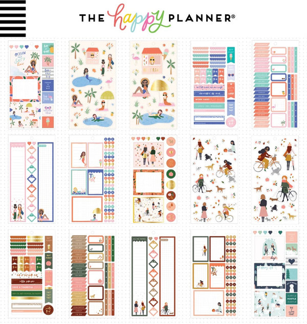 Squad Life Planner Sticker Pack (1029pcs) Designs