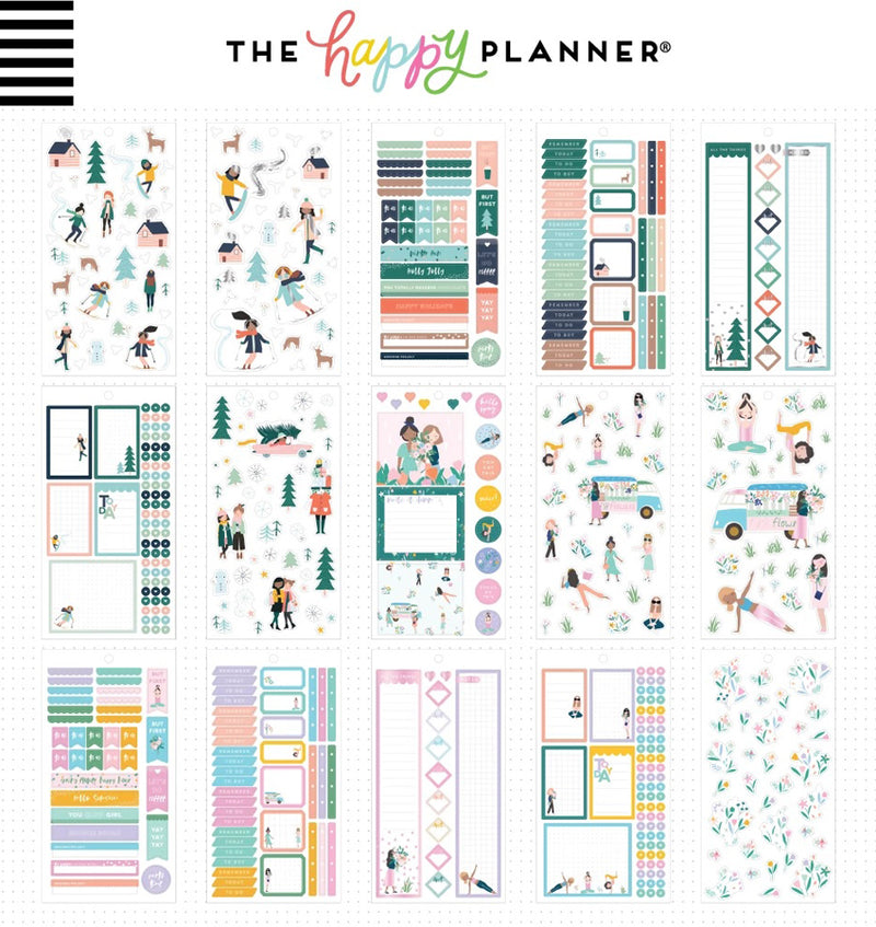Squad Life Planner Sticker Pack (1029pcs) Designs Sheet Two