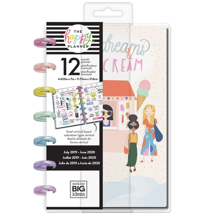Squad Life 2019 - 2020 Mini Happy Planner (12 Months) Cover with Tab
