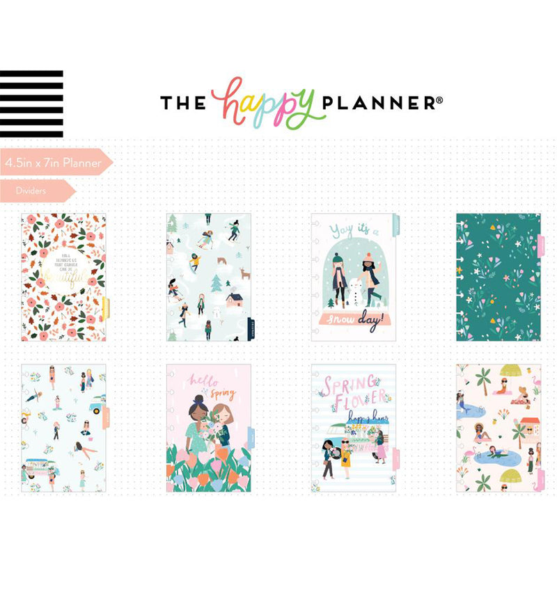 Squad Life 2019 - 2020 Mini Happy Planner (12 Months) Dividers