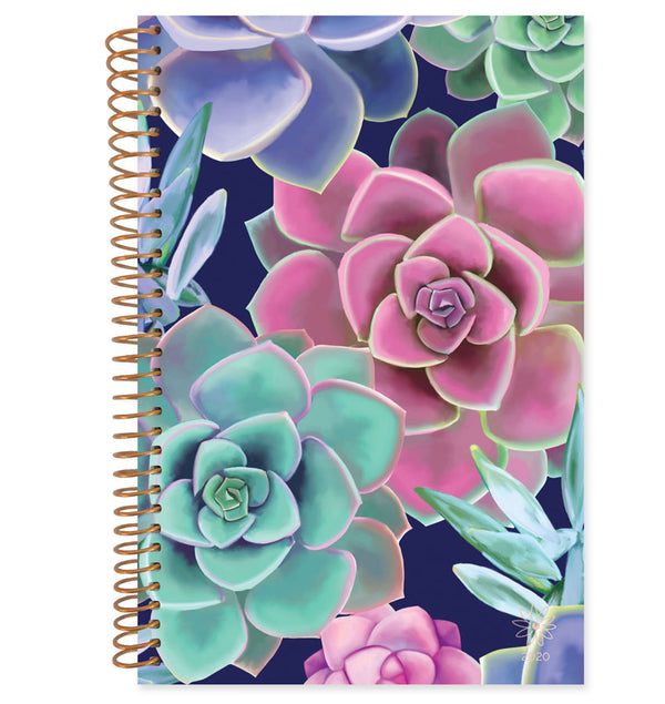 Bloom Succulents 2020 Soft Cover Daily Planner