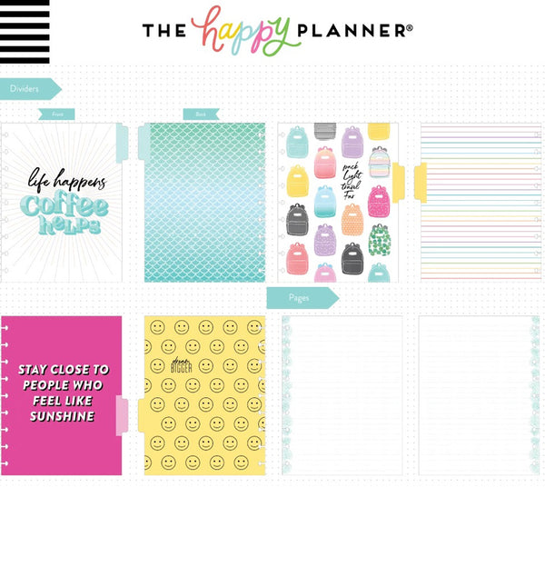 Super Busy Classic Happy Notes™ (Dot Lined) Dividers and Pages
