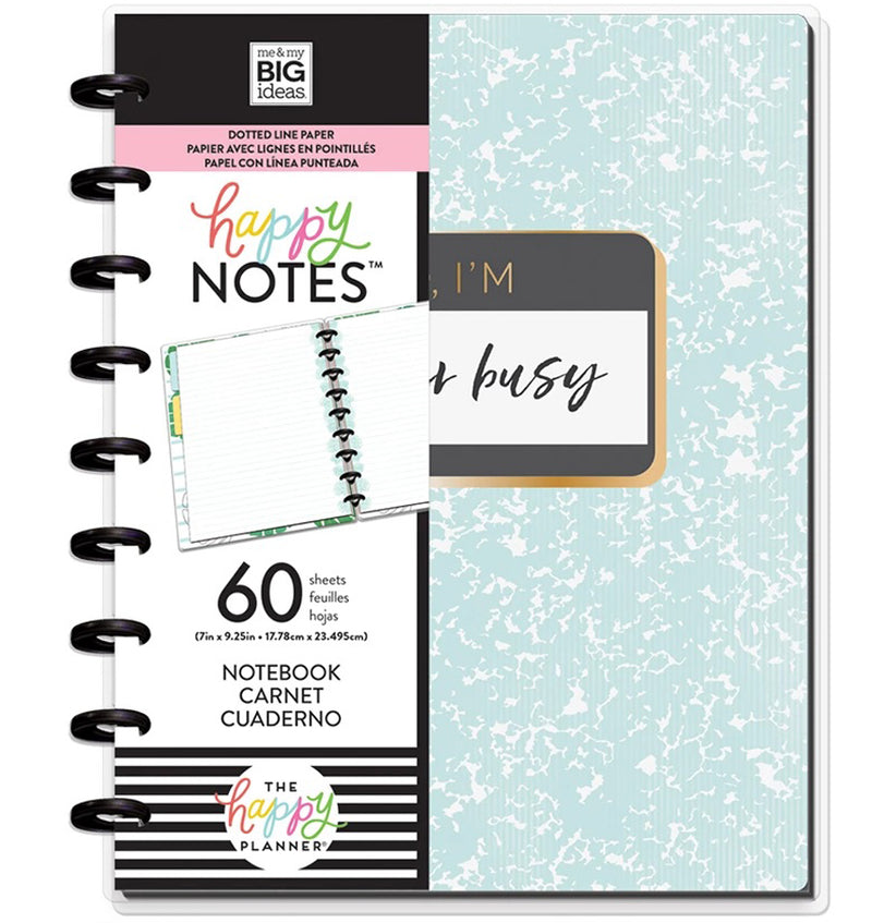 Super Busy Classic Happy Notes™ (Dot Lined) with Tags