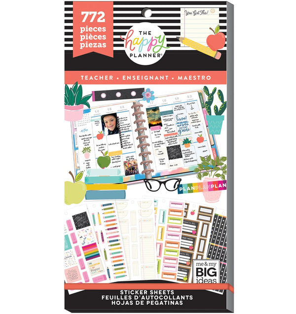 Teacher Planner Sticker Pack (722pcs)