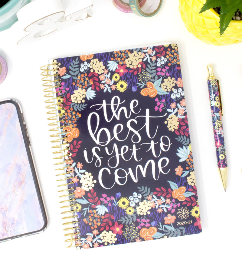 Best Is Yet To Come 2020-2021 Soft Cover Daily Planner