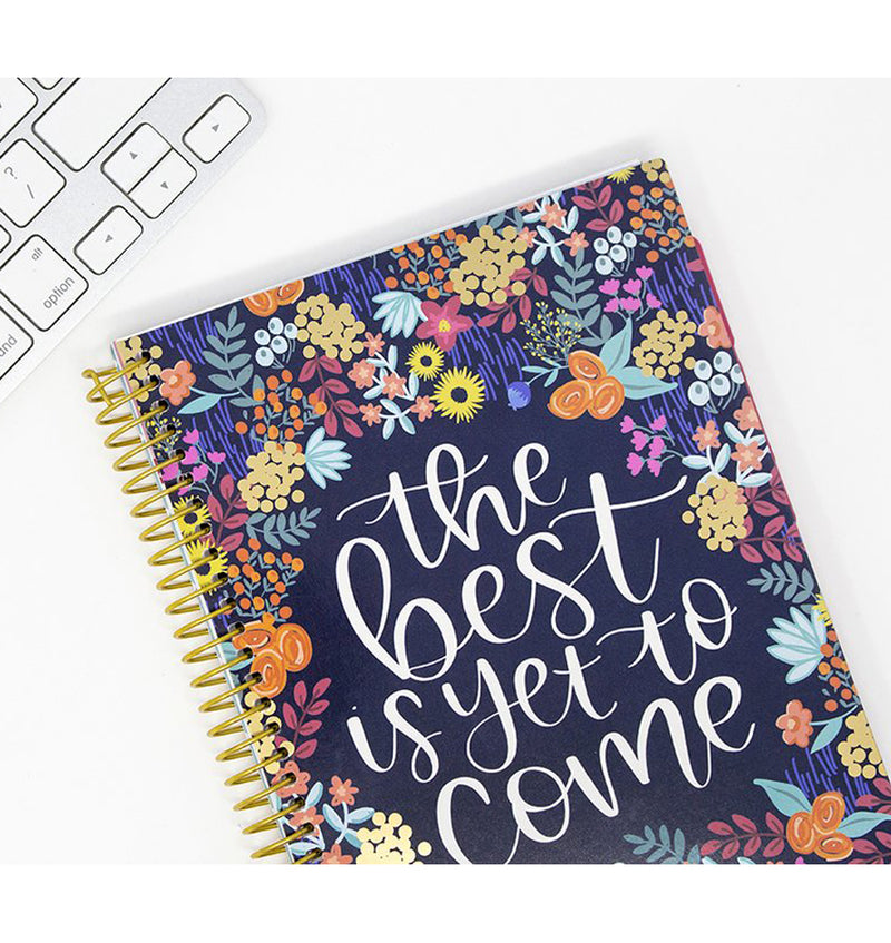 The Best Is Yet To Come 2019-2020 Bloom Soft Cover Daily Planner Zoom