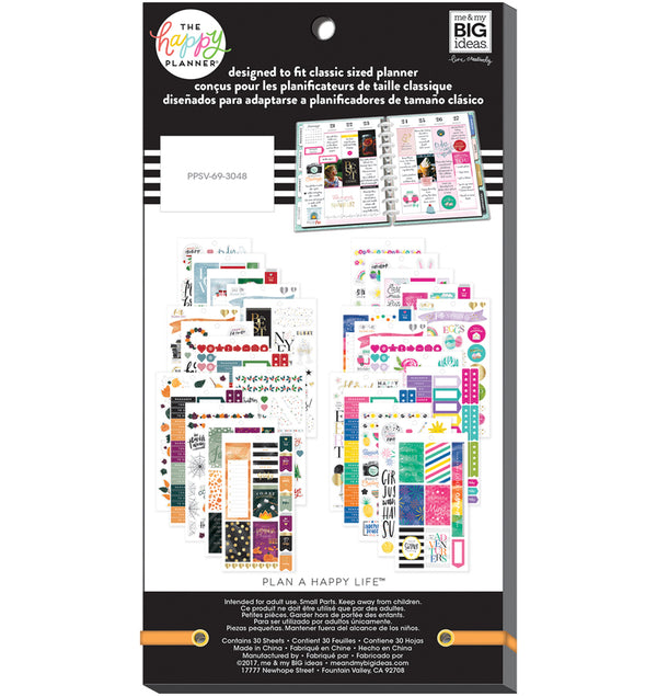 All in a Season Planner Sticker Pack (876pcs) Back